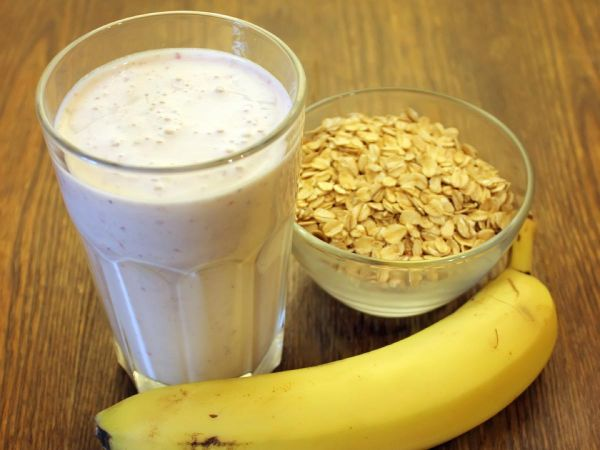 Oats with Protein Shake