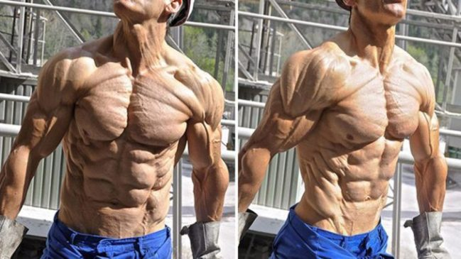 How to make skin thinner for Bodybuilding